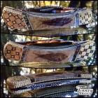 Custom Buck 110 Genuine Abalone and Genuine Fossil Fish from Wyoming Prototype