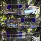 Custom Buck 110 with Genuine Scorpions inlaid with azurite web prototype