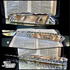 Case xx Trapper with silver bible inlay and mammoth ivory 1 of 1