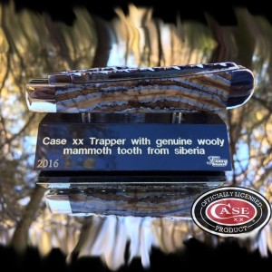 Case xx trapper natural mammoth tooth 1 of 1