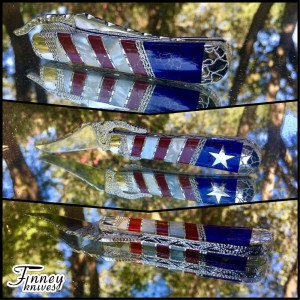 Case XX Russlock Patriotic Super Limited Run of 5