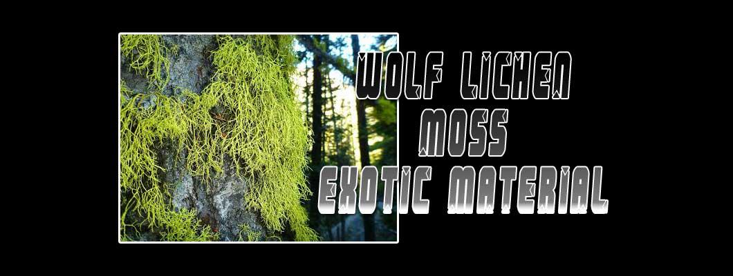 Wolf Lichen Exotic Material