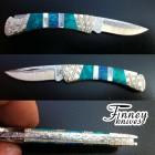 Custom Buck 505 Knight with Lab Opal