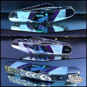Finney Vault - Custom Case XX Sowbelly with purple mohave turquoise - pearl - opal matrix 1 of 1