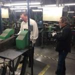 Garett Finney & Billy Bates at the Buck Factory