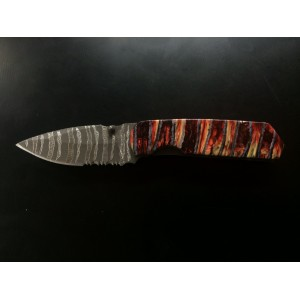 Custom Schrade 303MS Tactical folder with mammoth tooth